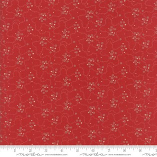 Farmhouse Reds Red Meandering Dots 14858-11