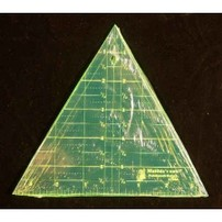 "60° Degree Triangle Ruler 6"" Tall"