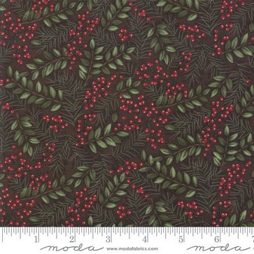 Moda Winter Manor 6772 16 Twig Winter Green By The Yard