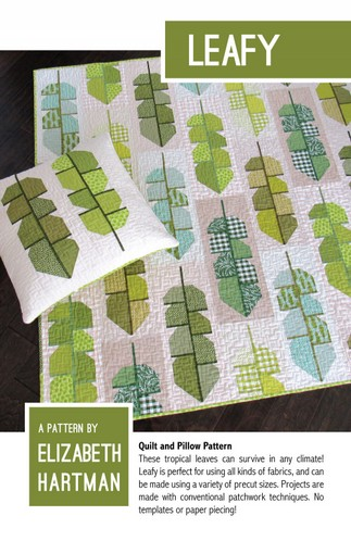 Prodotto 1LEAFY pdf quilt and pillow pattern