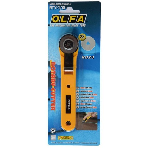 OLFA rotary cutter, 28 mm