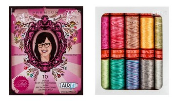 Aurifil Set Premium Collection by Tula Pink