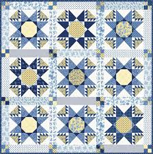 "SCHEMA When Harry Met Meghan Quilt Pattern (Finished size: 76"" x 76"")"