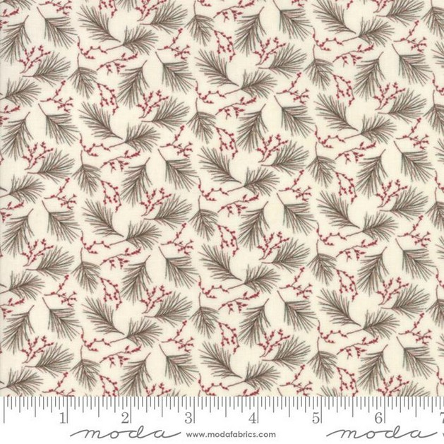 Winter Manor Collection Berry Fabric 6773 11